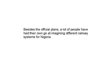 nigerian railways by oliver owen 22c