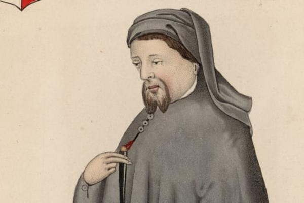 Geoffrey Chaucer, c.1370 … his writing appreciates independent women. Photograph: Hulton Archive/Getty Images