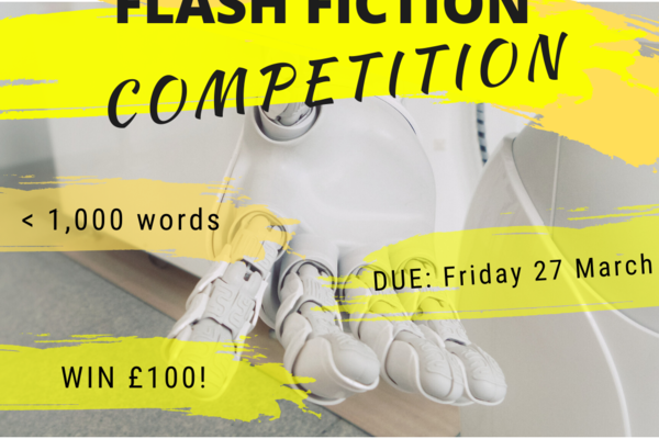 Flash Fiction Competition, Robot hand reaching out