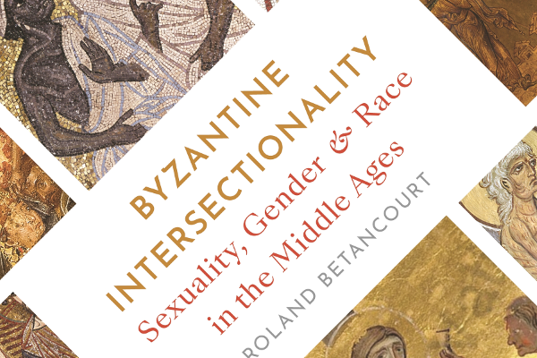 cover showing different byzantine imagery, heavy gold accents