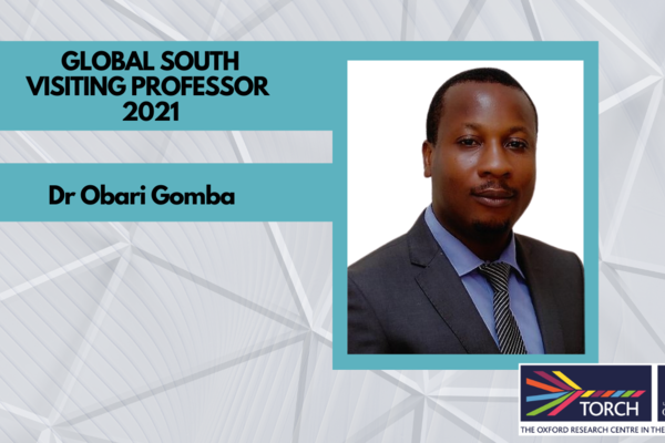 Global South Visiting Professor Welcome