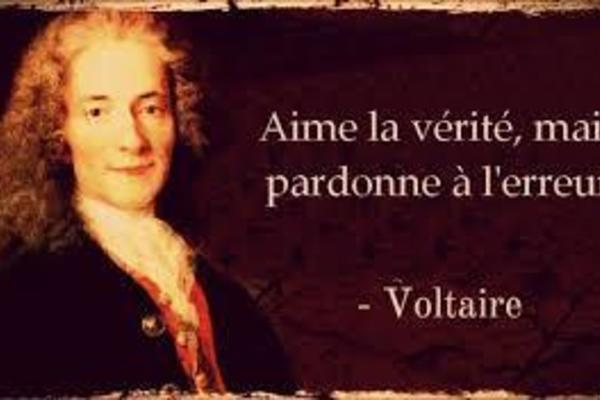 voltaire image conception enlightenment