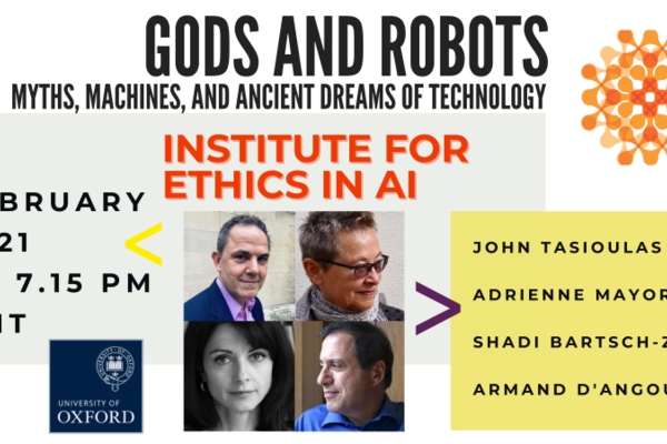 ethics in ai  gods and robots