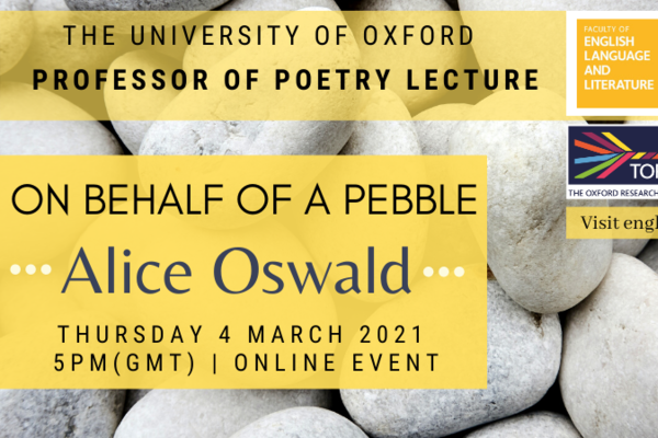 alice oswald pebble poster twitter2