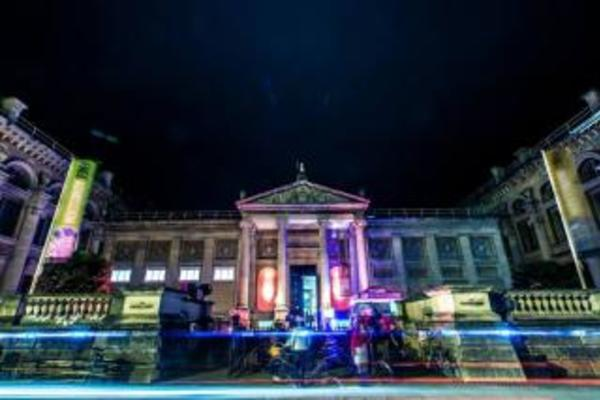 Ashmolean Fright Friday frontage
