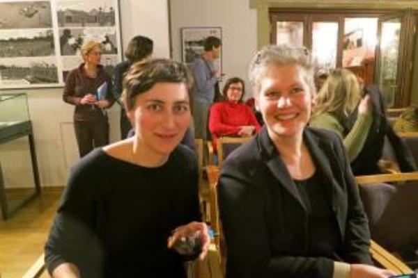 Karen and Ulrike Almut Sandig