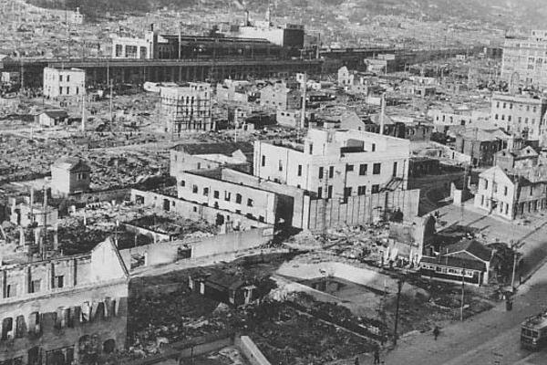 kobe after the 1945 air raid