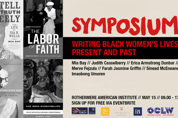 symposium writing black womens lives