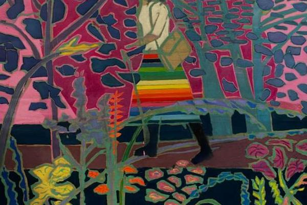 walking home by tom hammick