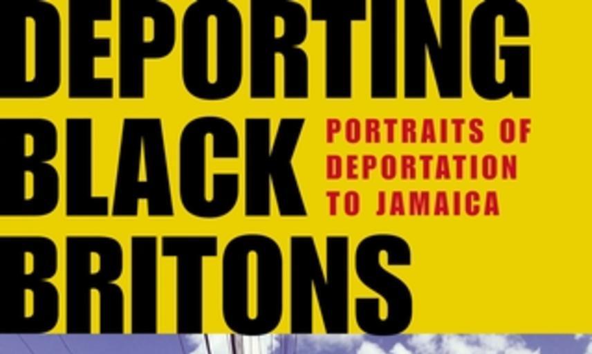 Book cover of Luke de Noronha's Deporting Black Britons