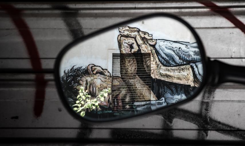 Street art in Exarcheia, Athens
