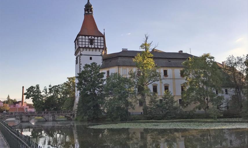 Exterior of Castle Blatna