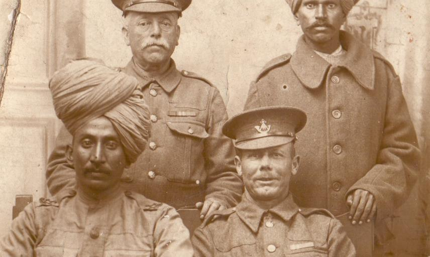 The soldiers were part of the Poona Division of the Indian Army which fought in Iraq