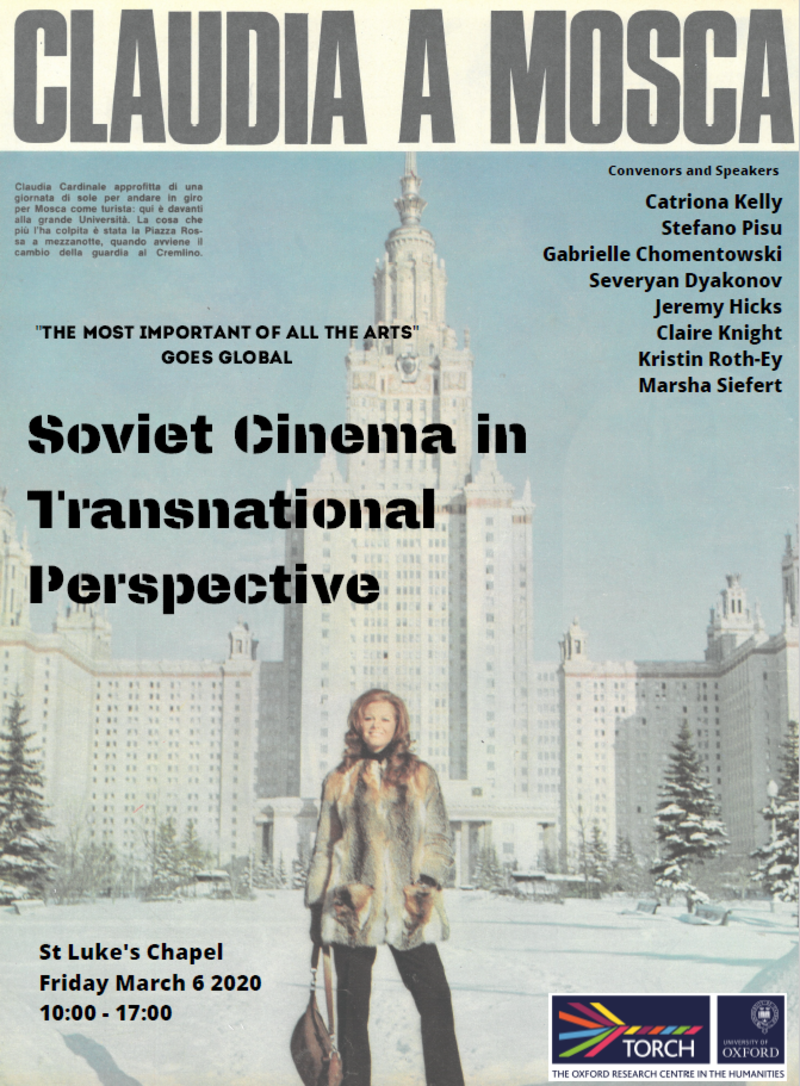 Soviet Cinema in Transnational Perspective Poster