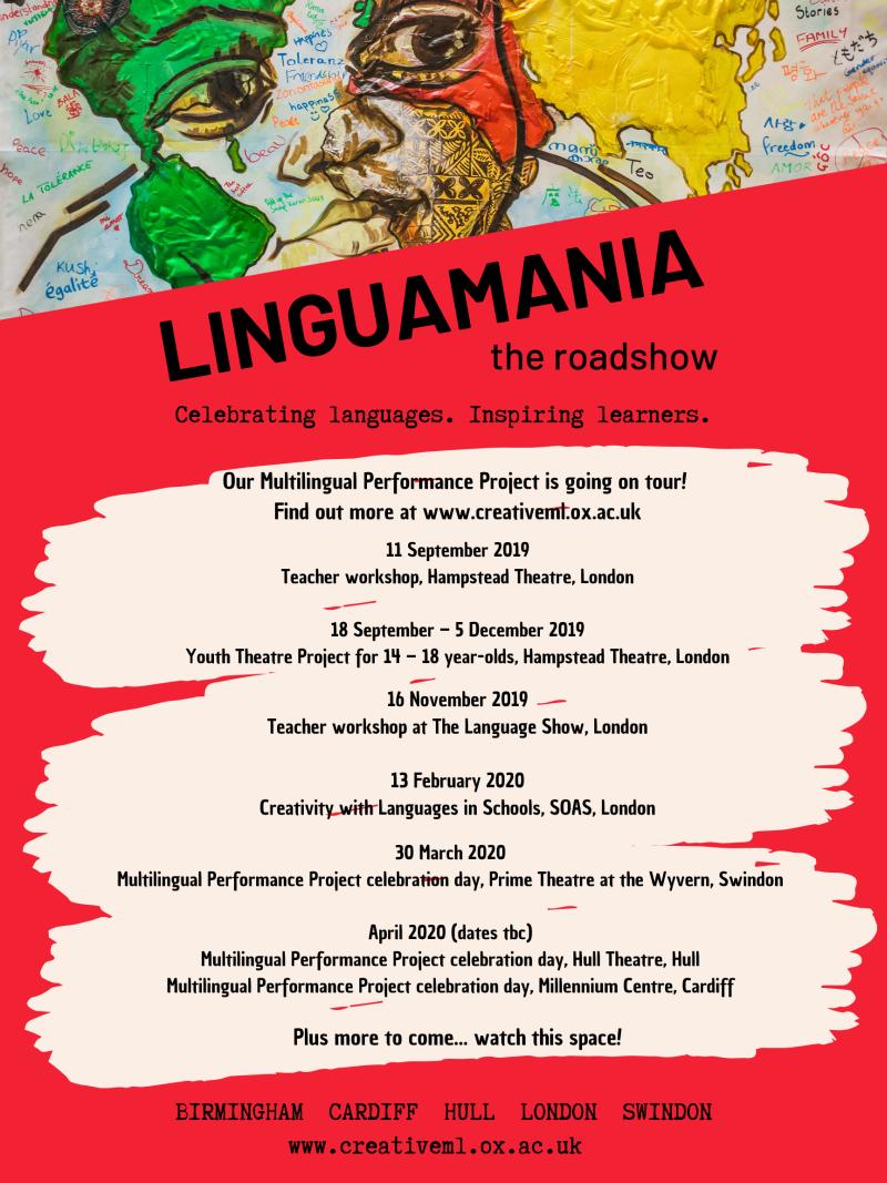 linguamania the roadshow