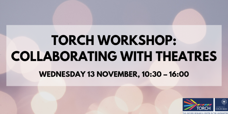 torch workshop collaborating with theatres twitter post new