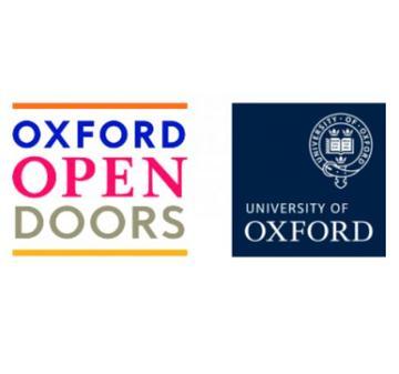 open doors logo, oxford university logo