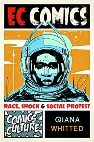 Comic image of astronaut