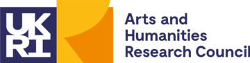Logo of UK Research and Innovation - Arts and Humanities Research Council