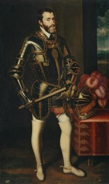 charles v in armour