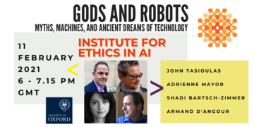 ethics in ai  gods and robots new
