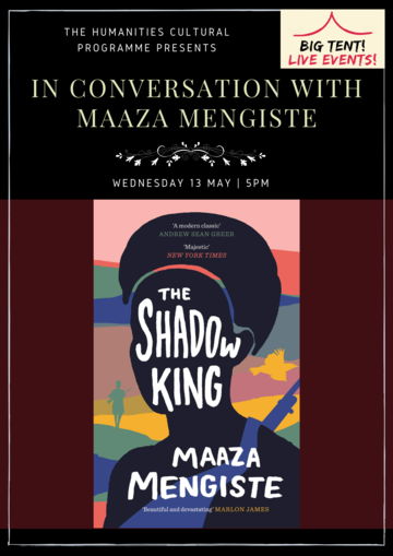 in conversation with maaza mengiste poster