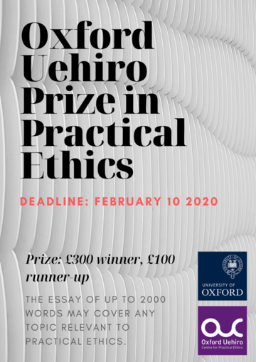 oxford uehiro prize in practical ethics
