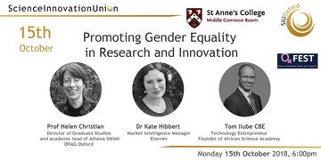 promoting gender equality in research and innovation