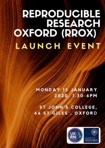 reproducible research oxford rrox launch event