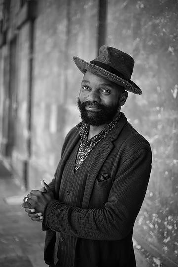 Photography of Samson Kambalu by Jeremy Hibbert