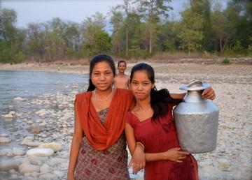 shurkhet water collection nepal smaller