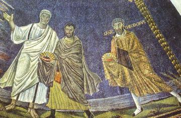 ss cosma e damiano mosaic