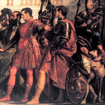 paolo veronese  the family of darius before alexander detail  wga24970