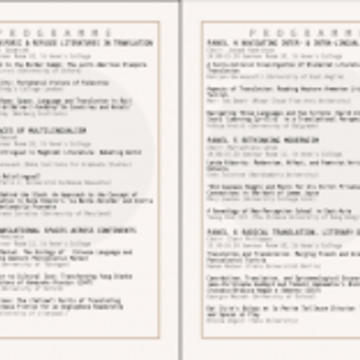 conference programme 0