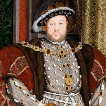 Portrait painting of King Henry the Eight