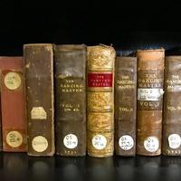 tunebooks shelf of books library Alice Little
