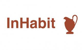 inhabit logo square